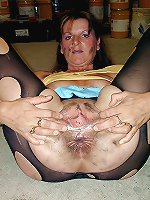 Filthy mature granny having fun with her boyfriend