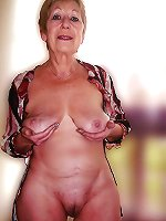 Impressive mature bitches posing totally nude on pictures